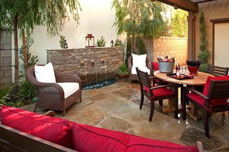 Portola Springs Sevilla Courtyard