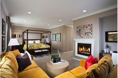 Portola springs ironwood bedroom