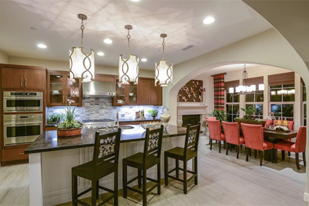 Portola Springs Quinterra Residence One Kitchen